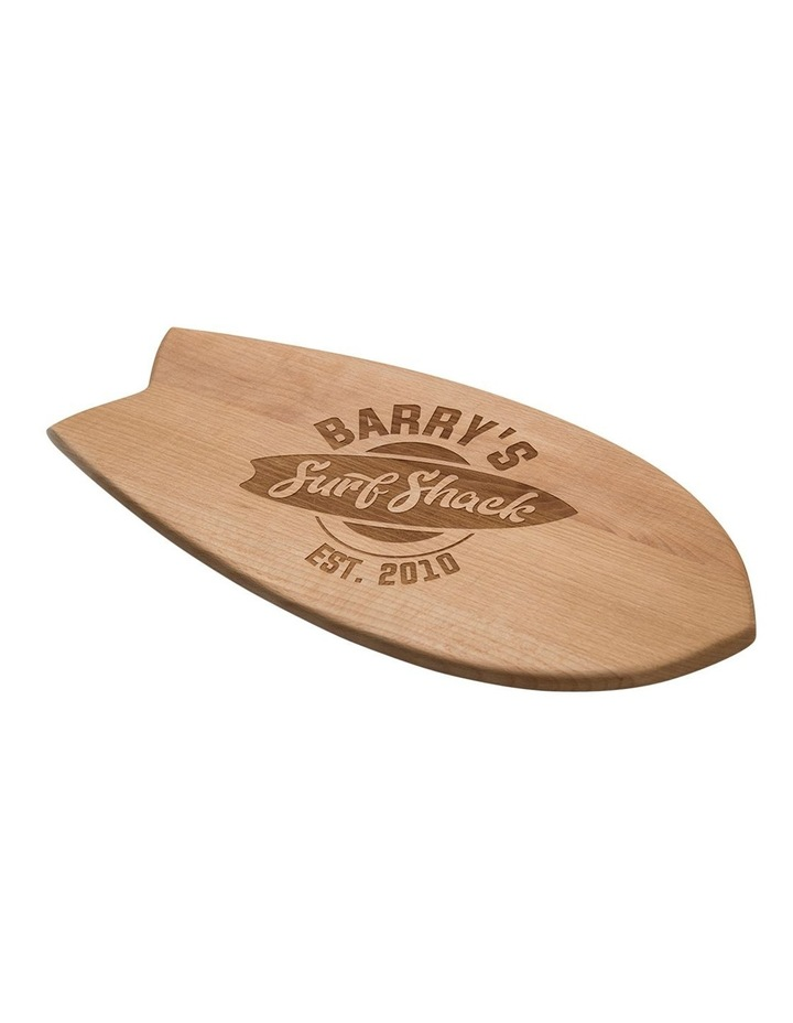 Personalised Surfboard Serving Board image 1