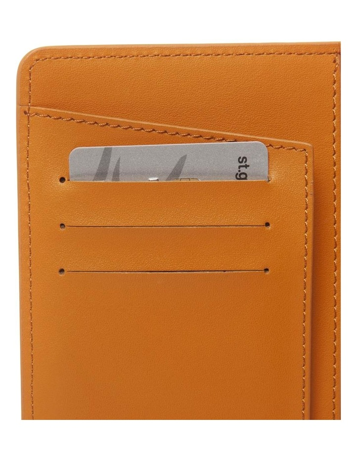 Personalised Recycled Leather Tan Passport Holder image 3
