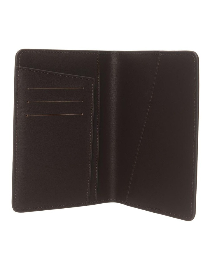 Personalised Recycled Leather Chestnut Passport Holder image 2