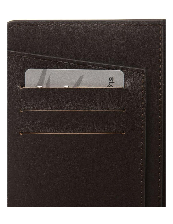 Personalised Recycled Leather Chestnut Passport Holder image 3
