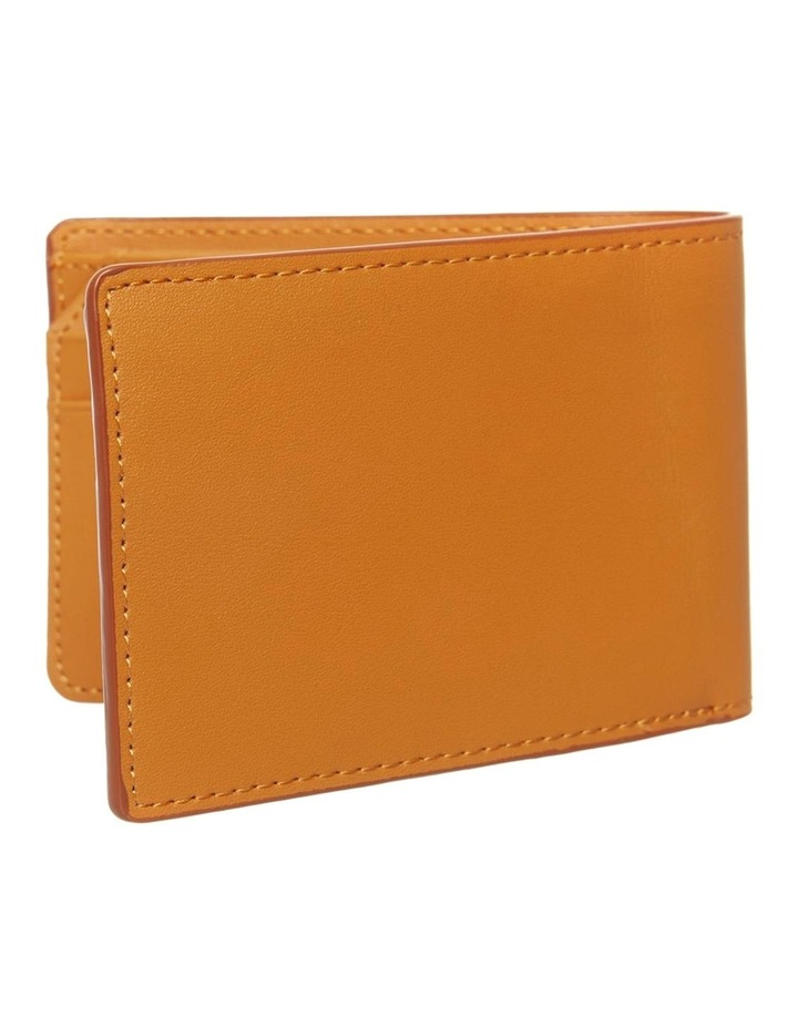 Personalised Tan Recycled Leather Wallet image 3