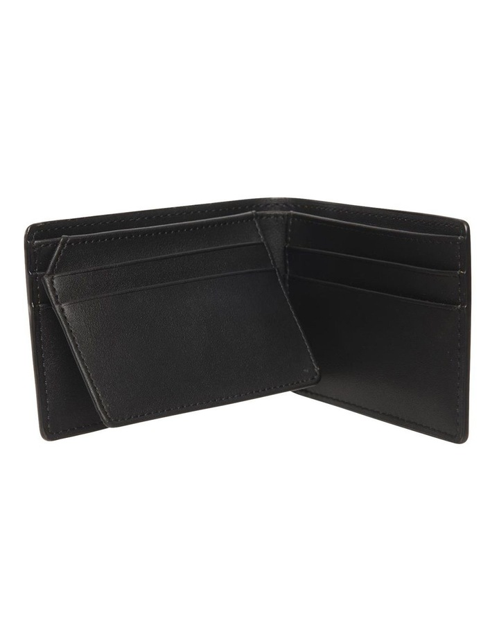 Personalised Black Recycled Leather Wallet image 3