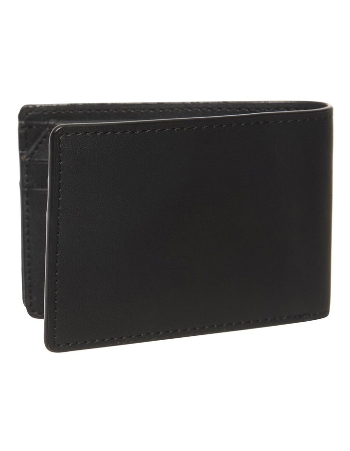 Personalised Black Recycled Leather Wallet image 4