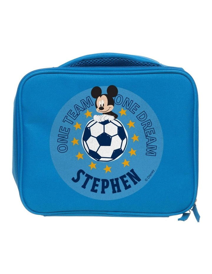 Personalised Mickey Mouse Team Mickey Lunch Bag image 1