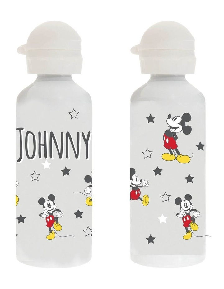 Personalised Mickey Mouse Stars Stainless Steel Drink Bottle image 1