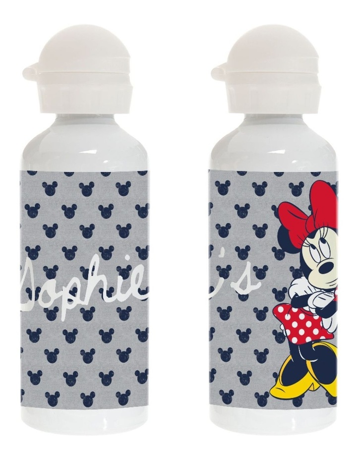 Personalied Minnie Mouse All About Me Stainless Steel Drink Bottle image 1