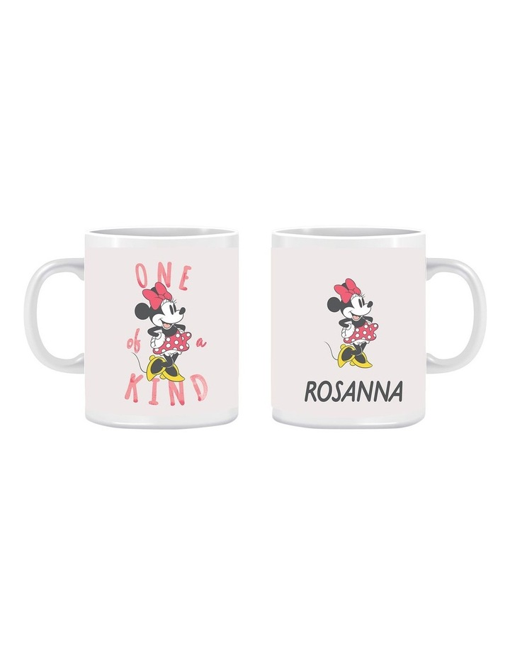 Personalised Minnie Mouse Pink Kids Ceramic Mug image 1