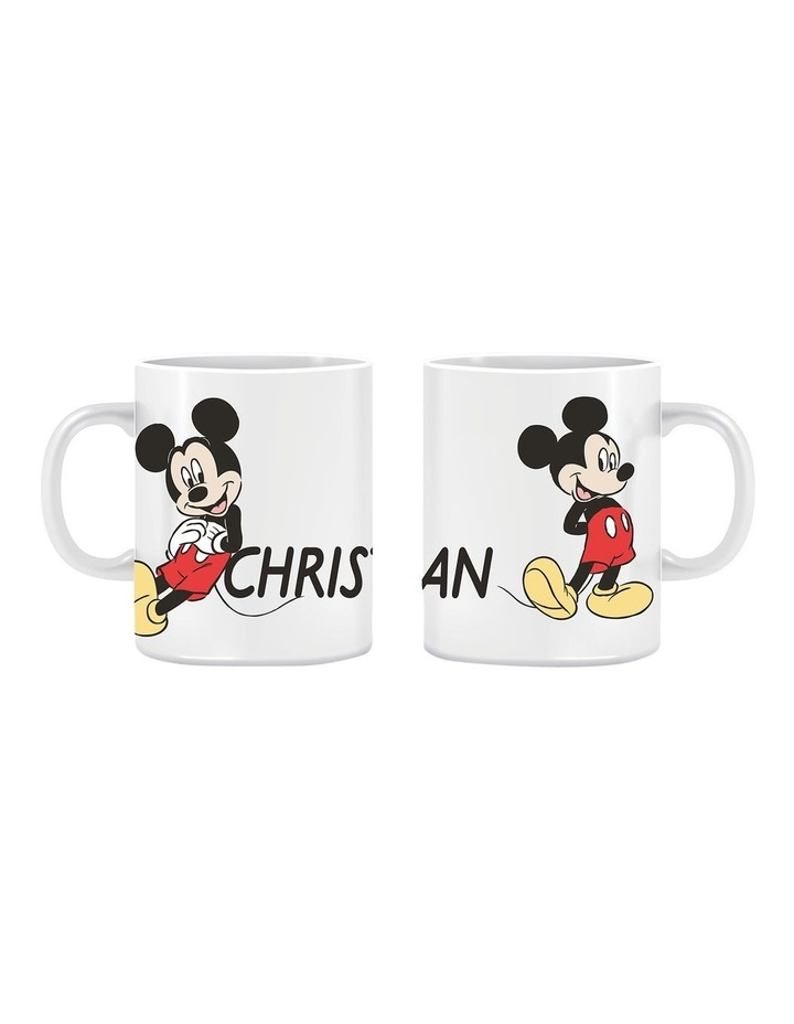 Personalised Mickey Mouse Classic Ceramic Mug image 1