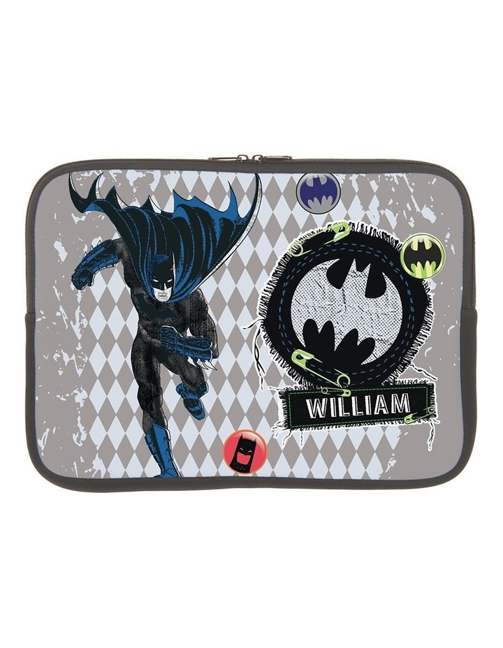 Personalised Batman Action 14 Laptop Sleeve image 1