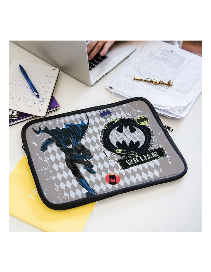 Personalised Batman Action 14 Laptop Sleeve image 2