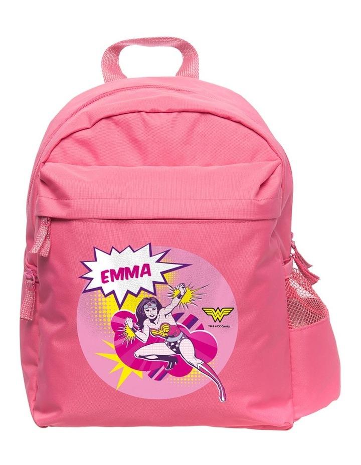 Personalised Wonder Woman Medium Backpack image 1