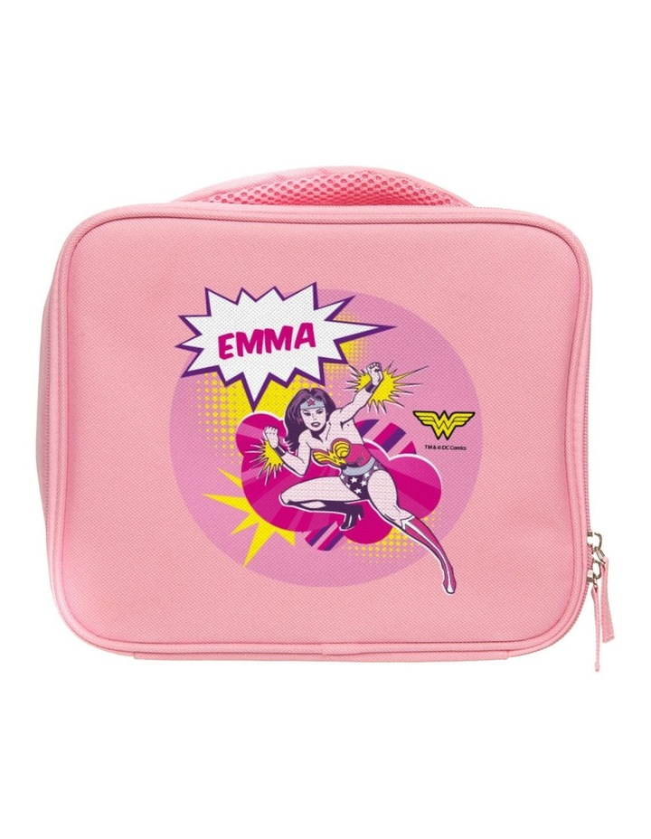 Personalised Wonder Woman Lunch Bag image 1