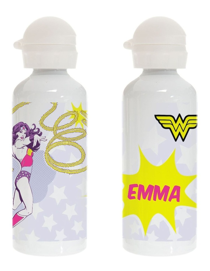 Personalised Wonder Woman Drink Bottle image 1