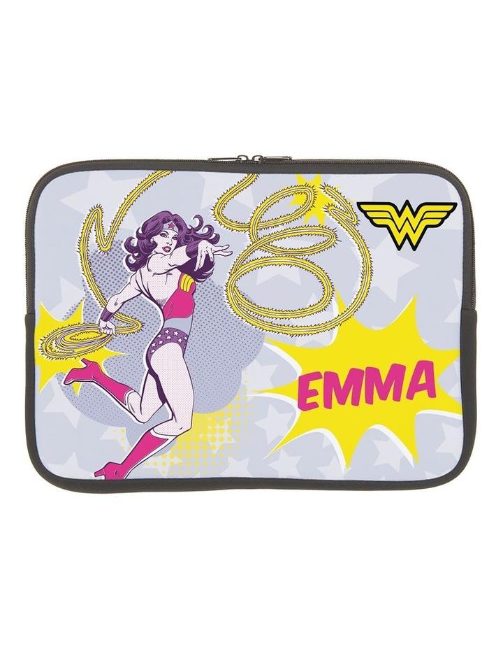 Personalised Wonder Woman 14 Laptop Sleeve image 1