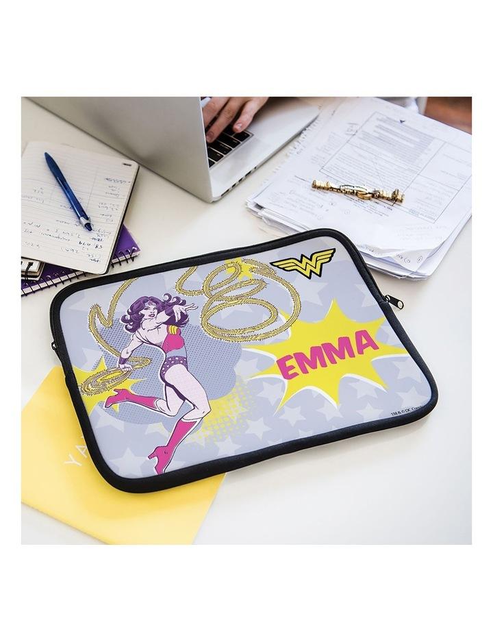 Personalised Wonder Woman 14 Laptop Sleeve image 2