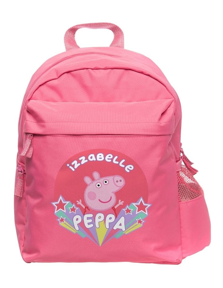 Peppa Pig Team Peppa Medium Pink Backpack image 1