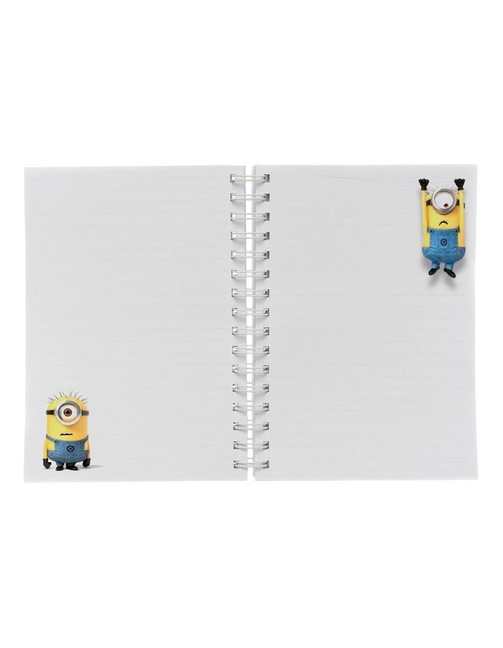 Personalised Despicable Me Most Likely to Dominate A5 Notebook image 2