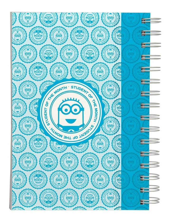 Personalised Despicable Me Most Likely to Dominate A5 Notebook image 3