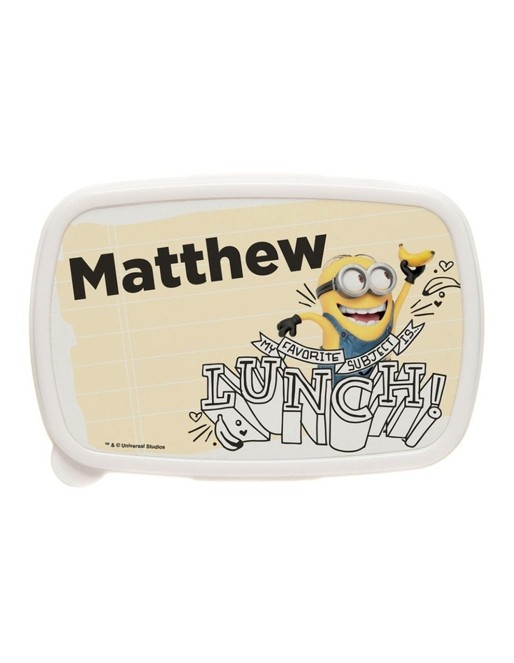 Personalised Despicable Me Lunch Box image 1