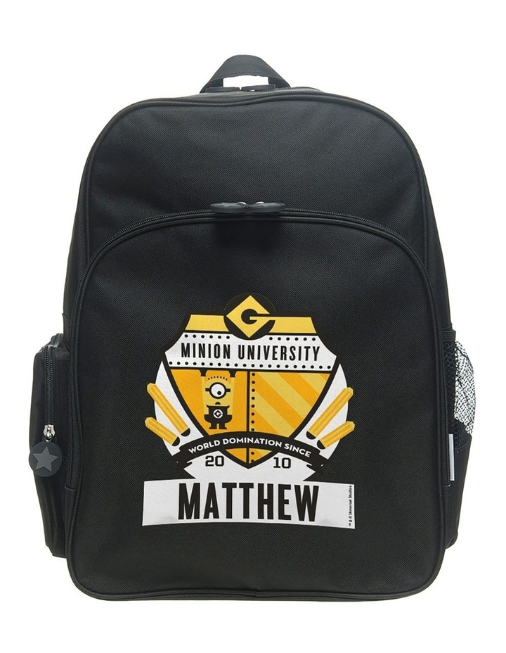Personalised Despicable Me University Large Backpack image 1