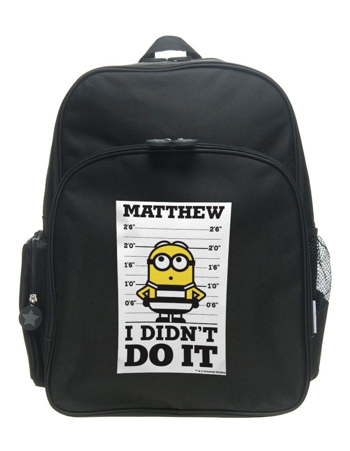 """Despicable Me 3 """"I Didn't Do It"""" Medium Backpack image 1"""
