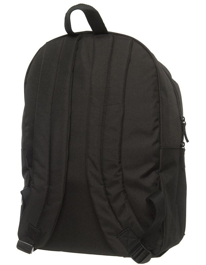 Personalised Jurassic World Battle Fire Logo Large Black Backpack image 2