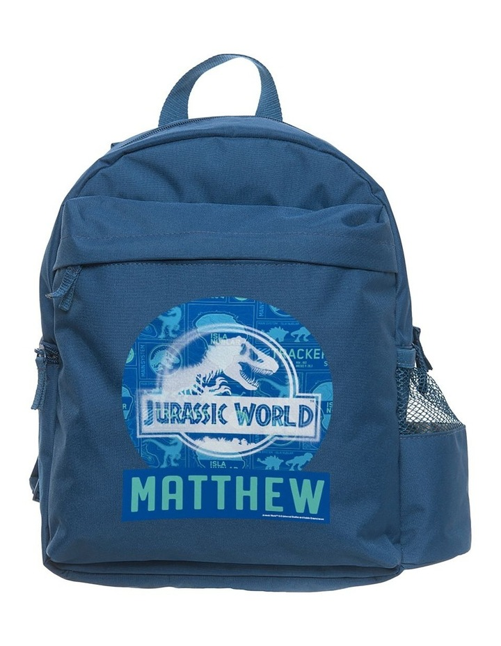 Jurassic World Tracker Medium Navy Backpack image 1