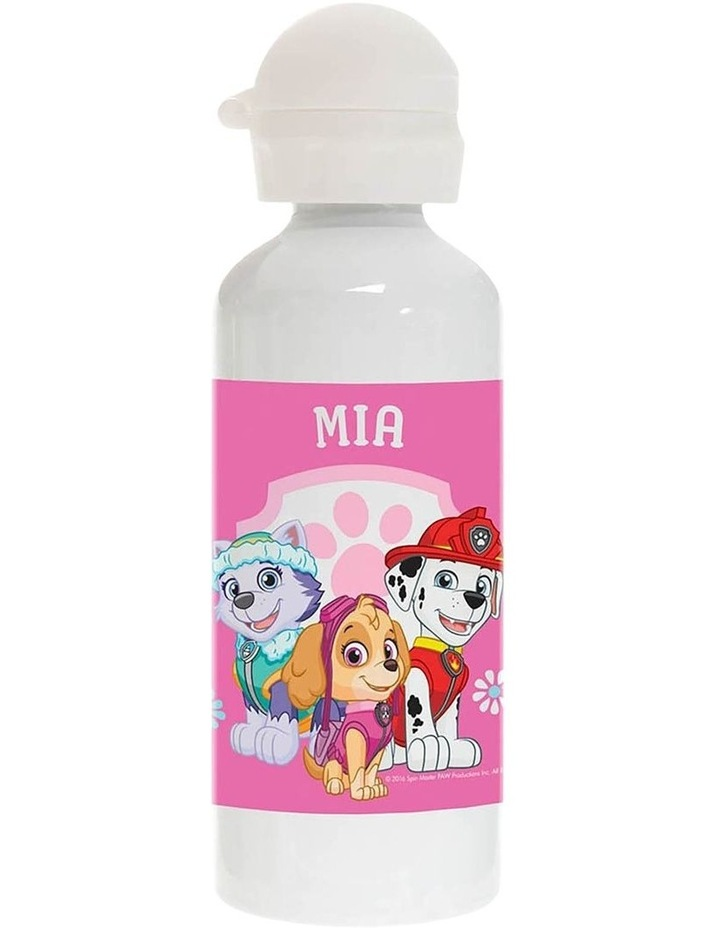 Personalised Paw Patrol Pup Power Drink Bottle image 1
