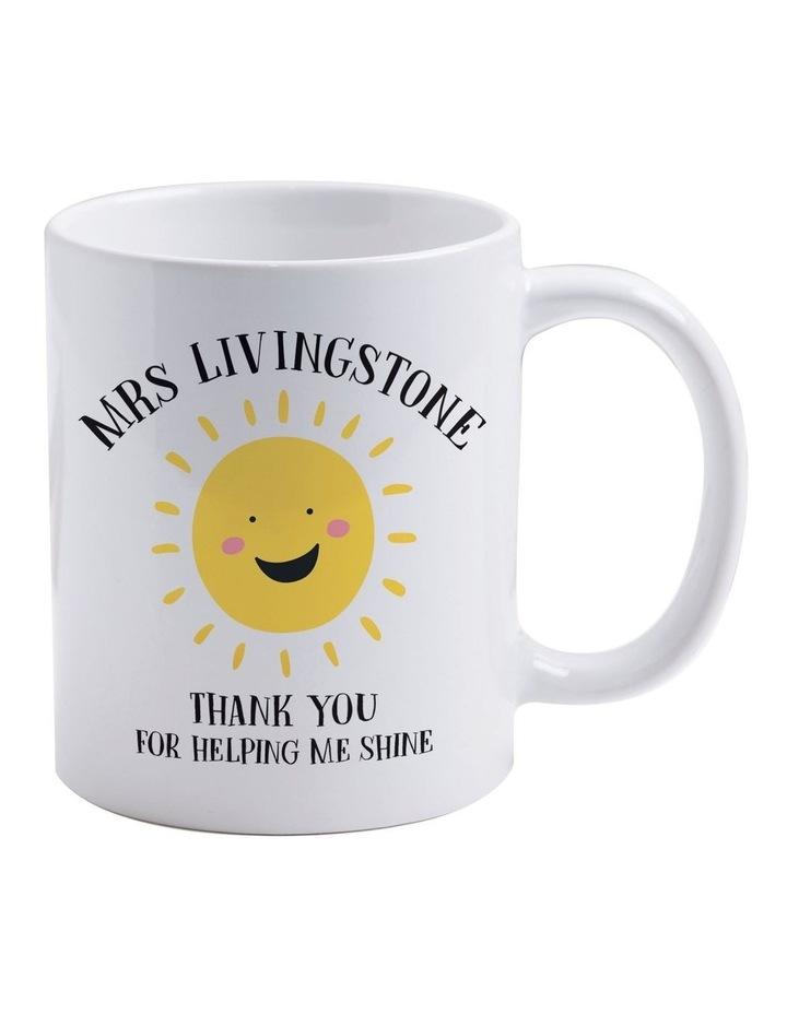 Personalised Shine Mug image 1