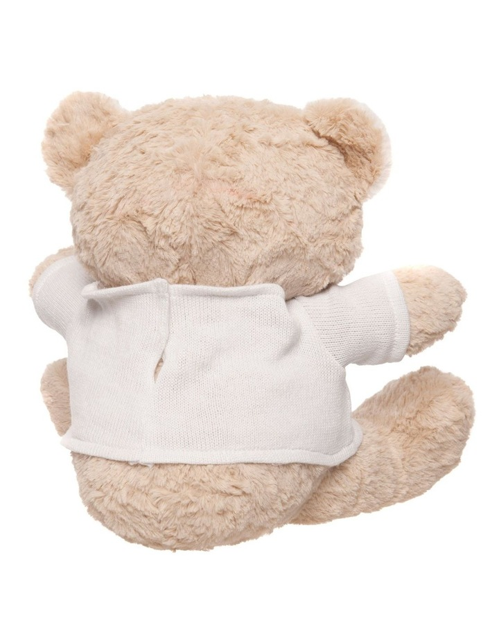 Personalised Plush Teddy Bear with Jumper image 3
