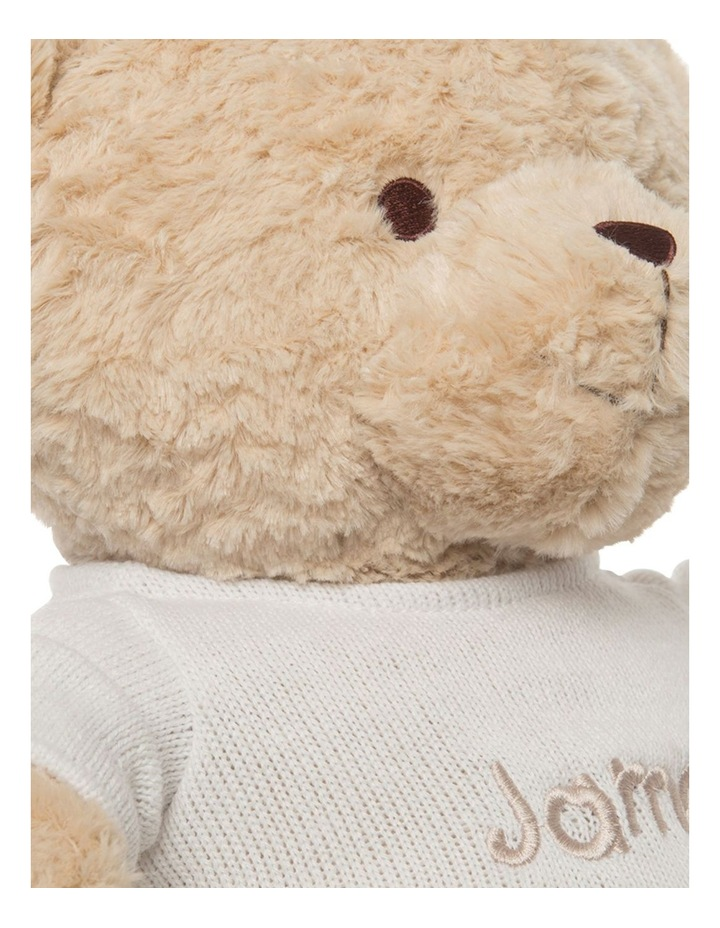 Personalised Plush Teddy Bear with Jumper image 4