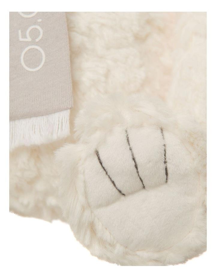 Personalised Plush Polar Bear with Scarf image 3