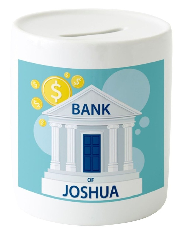 Personalised My Bank Ceramic Money Box image 1