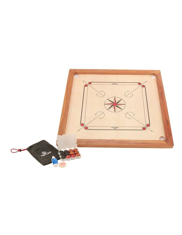 84x84cm Plywood Carrom Board with 74x74cm Internal Playing Area image 2
