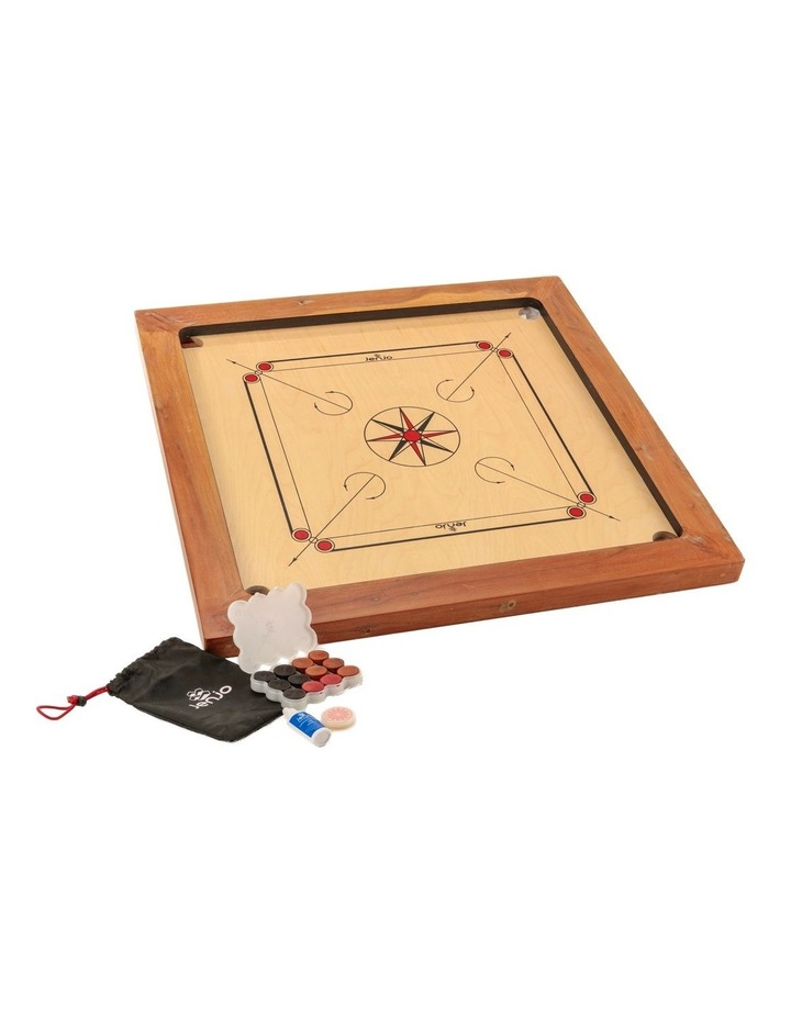 87x87cm Plywood Championship Carrom Board with 74x74cm Internal Playing Area image 1