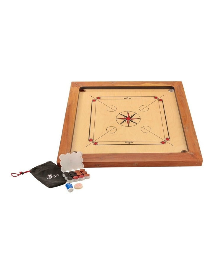 87x87cm Plywood Championship Carrom Board with 74x74cm Internal Playing Area image 2