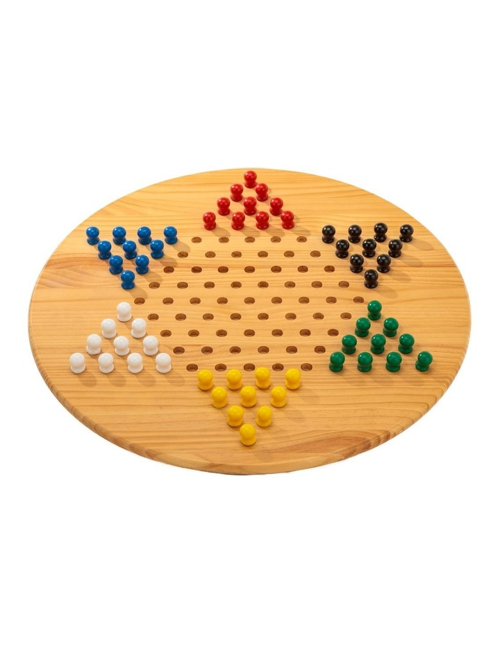 Wooden Giant Chinese Checkers 68cm Diameter image 1