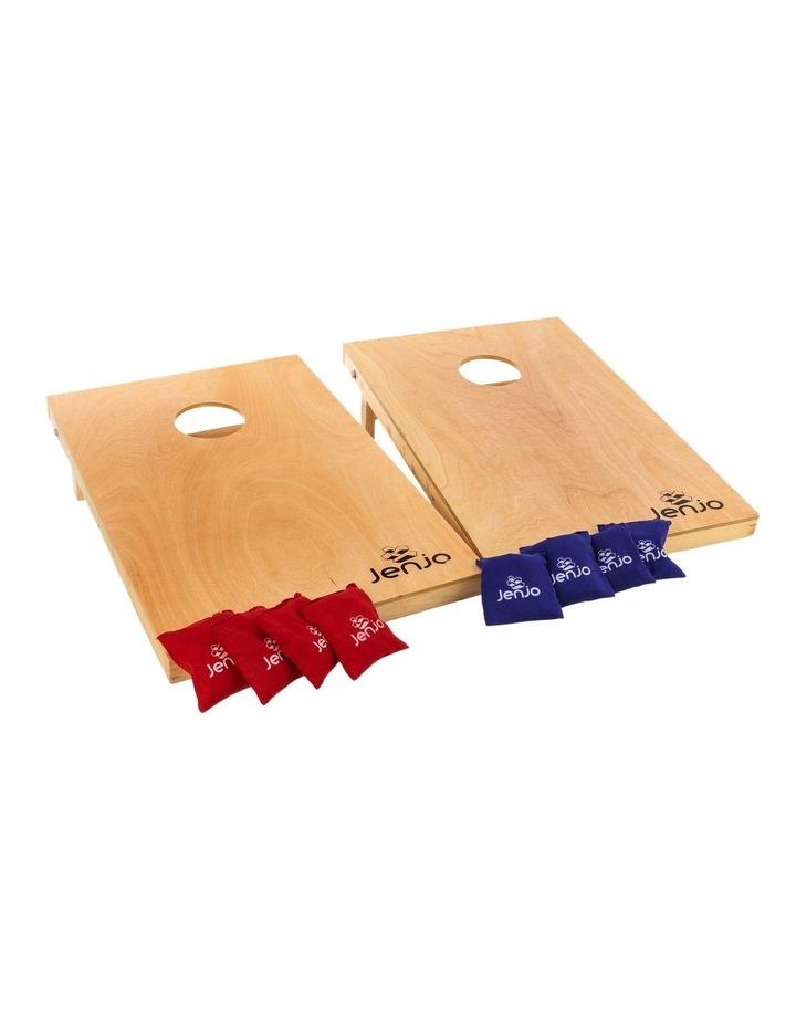 Cornhole Boards & Corn Bags Toss Game Set image 1