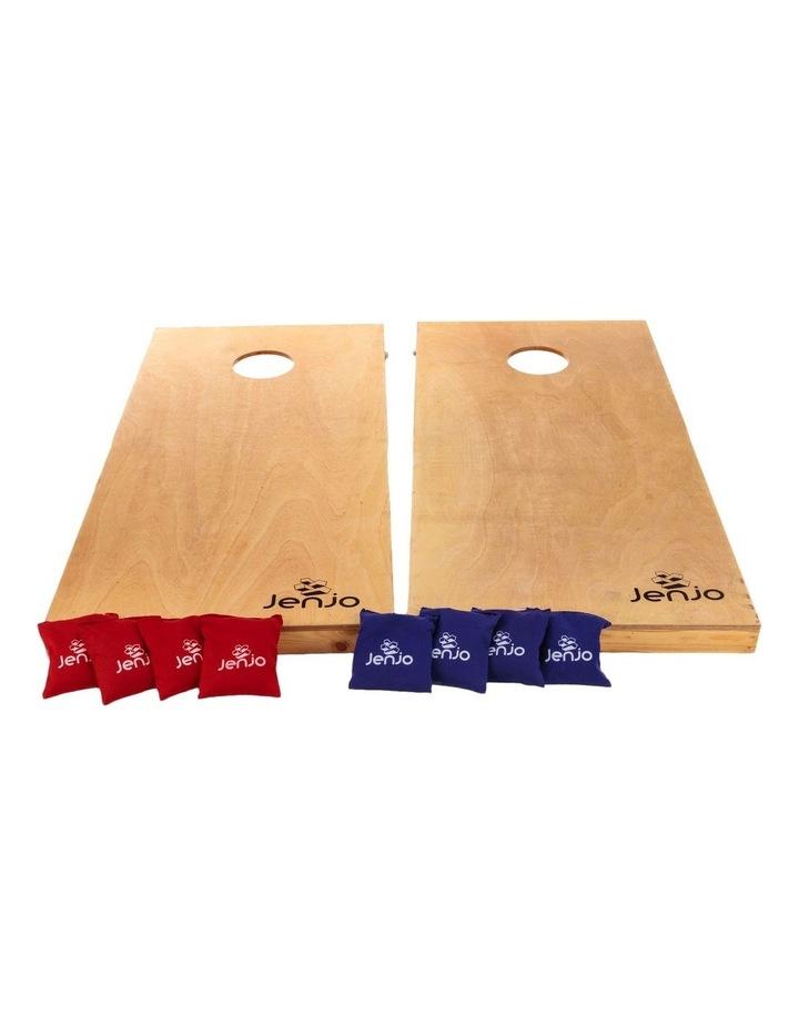Competition Cornhole Boards & Bean Bag Toss Game Set 120X60cm image 2