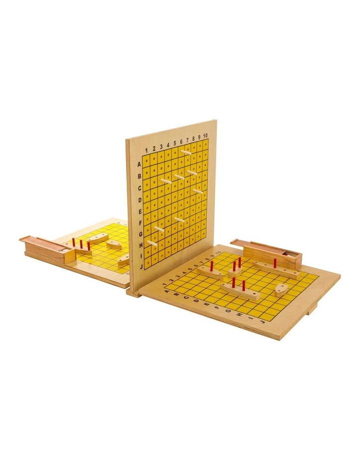 Wooden Giant Ships Game w/Carry Bag image 1