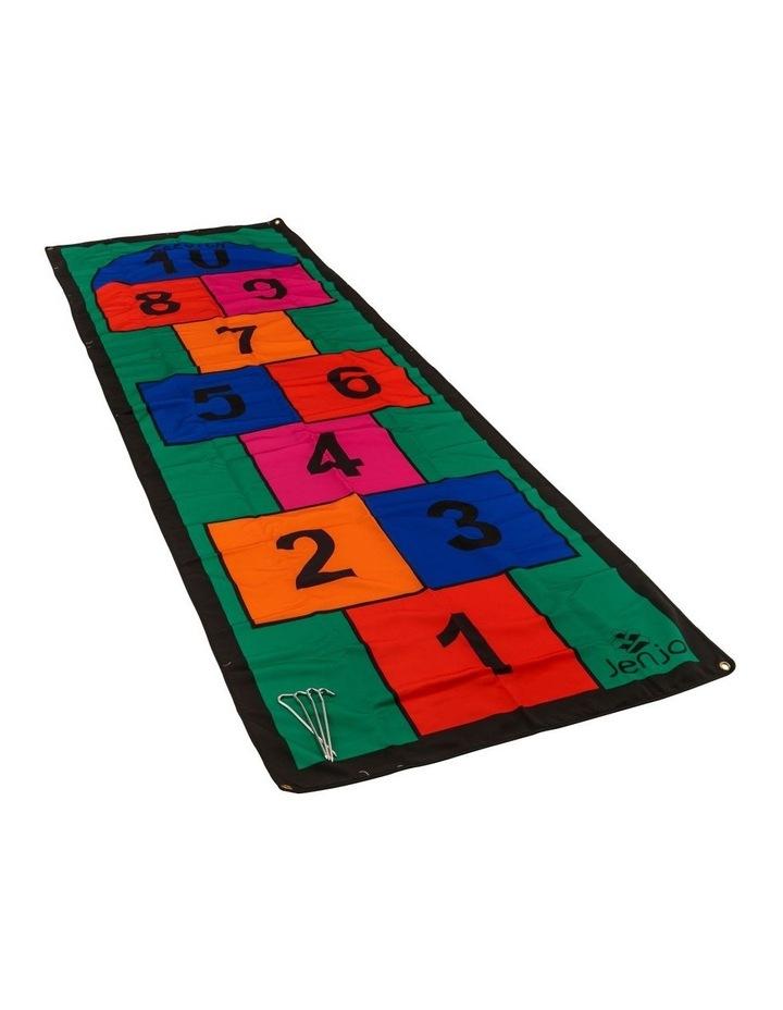 Colourful 3m Length Hopscotch Mat w/ Pegs image 1