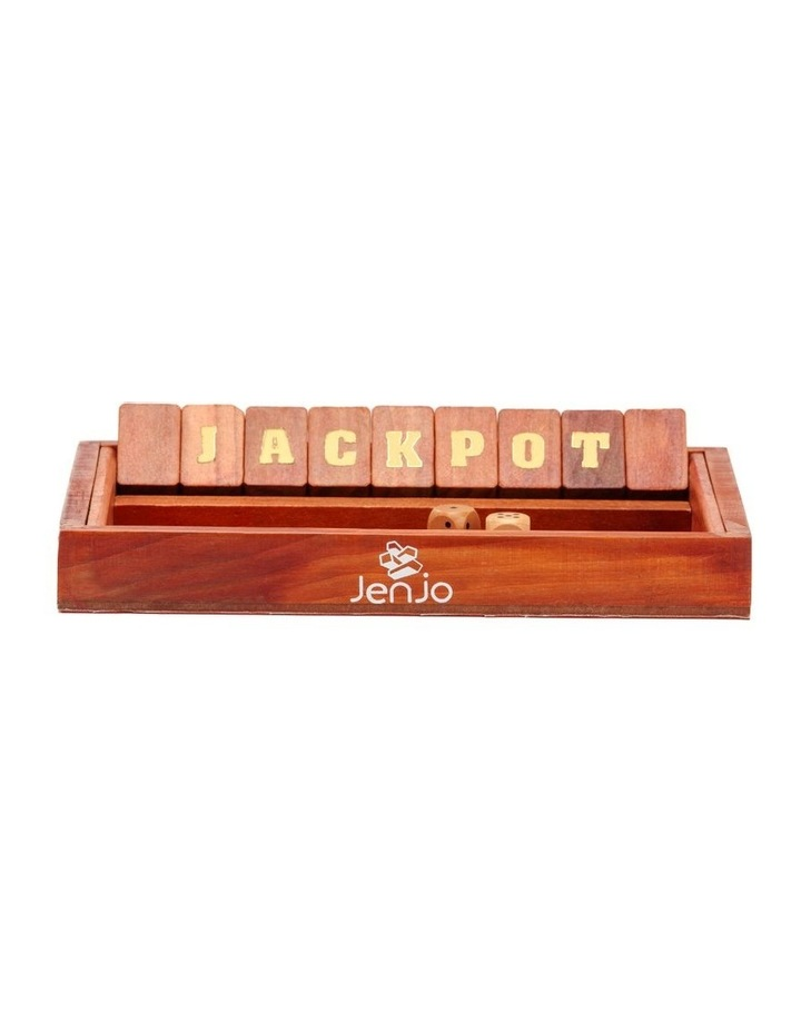 Jackpot /Shut The Box Board Game image 2