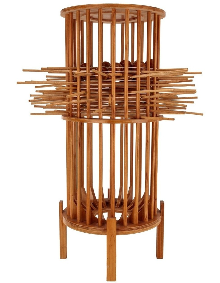 Giant Wooden Kerplunk Game Set 1.5m Height image 1