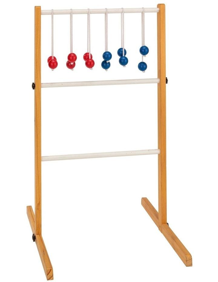 Ladder Ball Golf Toss Outdoor Lawn Game Set image 1