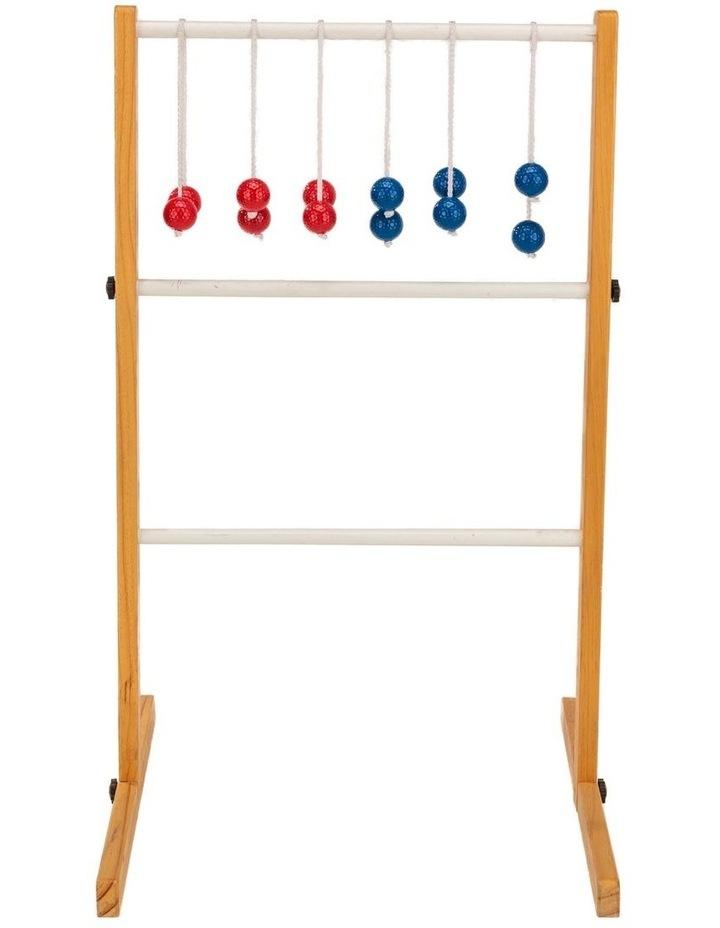 Ladder Ball Golf Toss Outdoor Lawn Game Set image 2