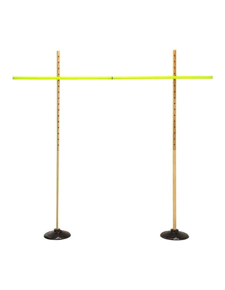 Wooden Limbo Set w/ Rubber Legs & Plastic Pole Height 158cm image 1