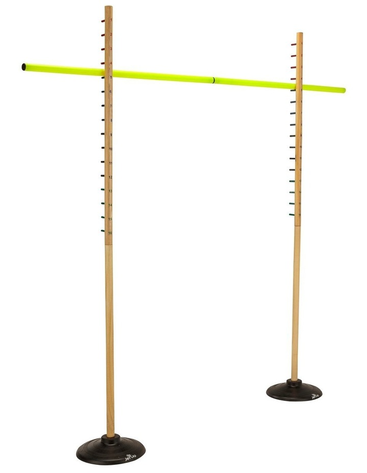 Wooden Limbo Set w/ Rubber Legs & Plastic Pole Height 158cm image 2