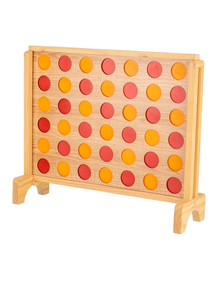 Mega Plywood Connect Four In A Row Game Set 69x79cm image 2