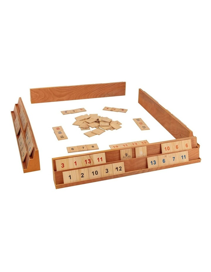 Wooden Giant Rummy Game w/Carry Bag image 1