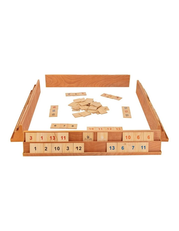 Wooden Giant Rummy Game w/Carry Bag image 2